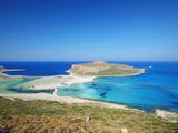 Balos Bay and Gramvousa  Chania  Crete  Greek Islands  Greece  Europe