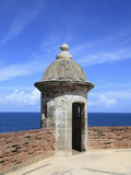 Sentry  San Cristobal Fort  UNESCO World Heritage Site  San Juan  Puerto Rico  USA