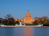 Ulysses S Grant Memorial and US Capitol Building and Current Renovation Work  Washington DC  USA