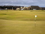 Eighteenth Green at the Old Course  St Andrews  Fife  Scotland  United Kingdom  Europe