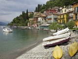 Lakeside View of the Medieval Village of Varenna  Lake Como  Lombardy  Italian Lakes  Italy  Europe