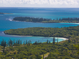 View over the Ile Des Pins  New Caledonia  Melanesia  South Pacific  Pacific