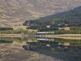 The Jacobite  Fort William to Mallaig Railway  Loch Eil  Lochaber  Scotland  United Kingdom  Europe