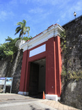 San Juan Gate  Old City Wall  UNESCO World Heritage Site  San Juan  Puerto Rico  USA