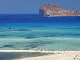 Balos Bay and Gramvousa  Chania  Crete  Greek Islands  Greece  Europe
