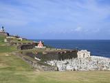 El Morro (Morro Castle)  San Felipe  UNESCO World Heritage Site  San Juan  Puerto Rico  USA