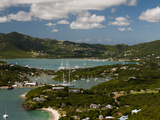 English Harbour and Falmouth Harbour  Antigua  Leeward Islands  West Indies  Caribbean