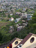 View from Arubari Monastery  Kathmandu  Nepal  Asia