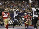 Super Bowl XLVII: Ravens vs 49ers - Anquan Boldin