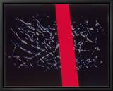 Abstract Image in Black and Red