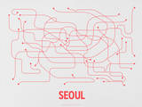 Seoul (Gray &amp; Red)