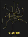 Shanghai (Black & Gold)