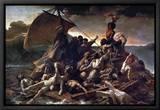 The Raft of the Medusa, 1819 Tableau sur toile encadré par Théodore Géricault