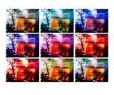 Warholic Remix Beergarden in Evening Sunlight