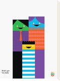 Wee You-Things, Brad Tableau sur toile par Wee Society