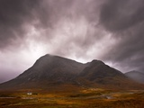 Glencoe Cottage Papier Photo par Doug Chinnery