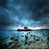 Mistérieux Bleu Reproduction photo par Philippe Sainte-Laudy