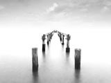 Infinite Pier Papier Photo par Marco Carmassi