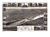 1883  St Paul 1883 Bird's Eye View  Minnesota  United States