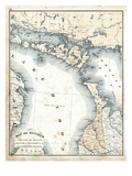 1879  Ontario - Counties - Bruce  Algoma District and Manitoulin Island  Canada