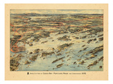 1906, Casco Bay, Portland, Maine Giclée