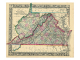 1864  United States  Virginia  West Virginia  North America  Virginia  West Virginia