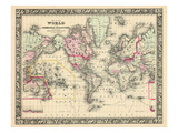 1864  World  World Map