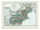 1873  Maine  New Hampshire  Vermont  Massachusetts  Rhode Island  Connecticut  New York  USA