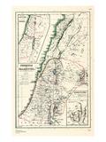 1898  500 BC  Israel  Jordania  Lebanon  Syria  Phoenice  Palaestina  Hierosolyma