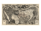 1507  World  First Map of America