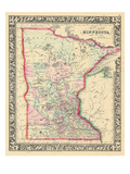 1864  Minnesota 1864 Mitchell Plate  Minnesota  United States