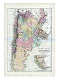 1873  South America  La Plata  Chili  Paraguay  Uruguay  Patagonia