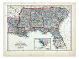 1873  South Carolina  Georgia  Florida  Alabama  Mississippi  Louisiana  USA