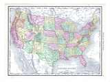 1913  United States  North America  United States Map