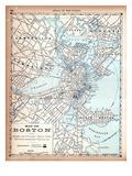 1890, Boston, Massachusetts Giclée
