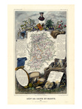 1885  France  Wine Regions of France - North