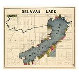1921, Delavan Lake, Wisconsin, United States Giclée