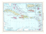 1913  Bahamas  The  Cuba  Dominican Republic  Jamaica  Puerto Rico  Central America  West Indies