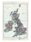 1873  The British Isles  England