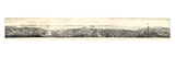 1862  San Francisco Panoramic View from Russian Hill  California  United States