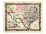 1864, Texas Mitchell Plate, Texas, United States Giclée