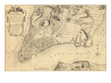 1776  New York City From 1767 Survey  New York  United States