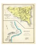 1892, Hampton, Hanpton Beach, New Hampshire, United States Giclée