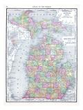 1913, United States, Michigan, North America Giclée