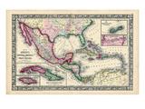 1864  Bahamas  Cuba  Dominican Republic  Honduras  Jamaica  Mexico  Puerto Rico