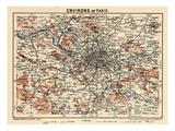 1929, France, Paris Giclée