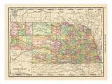 1913, United States, Nebraska, North America Giclée