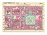 1939, Rittenhouse Square, Philadelphia, Pennsylvania, United States Giclée