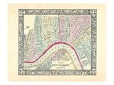 1864, Louisiana, New Orleans Giclée