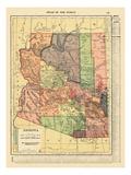 1914  Arizona State Map 1914  Arizona  United States